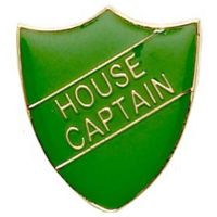 ShieldBadge House Captain Green</br>SB015G